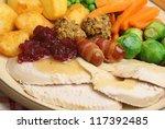 Roast Turkey Christmas Dinner...