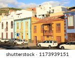 historic downtown in tazacorte... | Shutterstock . vector #1173939151
