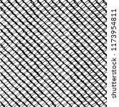 freehand drawn fence pattern... | Shutterstock .eps vector #1173954811