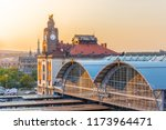 prague main train station ...   Shutterstock . vector #1173964471