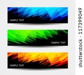 header designs | Shutterstock .eps vector #117399049
