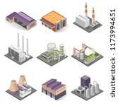 industrial building isometric... | Shutterstock .eps vector #1173994651
