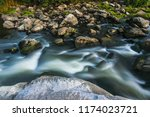 stones and bubbling river | Shutterstock . vector #1174023721