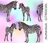 seamless pattern  background ... | Shutterstock .eps vector #1174032181