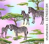 seamless pattern  background ... | Shutterstock .eps vector #1174032184