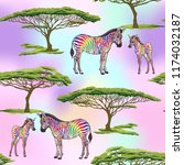 seamless pattern  background ... | Shutterstock .eps vector #1174032187