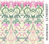 Floral Seamless Pattern ...