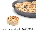 Baking Pan Full Of Unbaked...