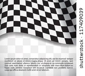 racing background with... | Shutterstock .eps vector #117409039