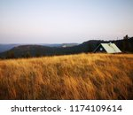 beautiful view on schwarzwald ... | Shutterstock . vector #1174109614