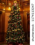 tall christmas tree | Shutterstock . vector #1174113247