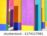 Multicolor Modern Architecture