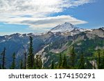 mount baker in wa usa | Shutterstock . vector #1174150291