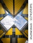 kubus house rotterdam | Shutterstock . vector #1174155391