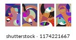vector abstract colorful... | Shutterstock .eps vector #1174221667