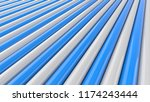 abstract blue and white... | Shutterstock . vector #1174243444