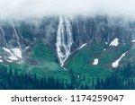 Bird Woman Falls, Glacier National Park, Montana