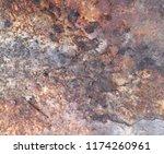 iron rust steel rust steel... | Shutterstock . vector #1174260961