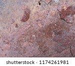 iron rust  steel rust  steel...   Shutterstock . vector #1174261981