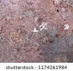 iron rust  steel rust  steel...   Shutterstock . vector #1174261984