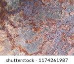 iron rust  steel rust  steel...   Shutterstock . vector #1174261987