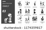 outline style icon pack for... | Shutterstock .eps vector #1174359817
