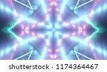 abstract kaleidescopic club...   Shutterstock . vector #1174364467