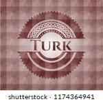 turk red seamless geometric... | Shutterstock .eps vector #1174364941