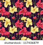floral seamless pattern... | Shutterstock .eps vector #117436879