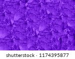 abstract purple canvas texture... | Shutterstock . vector #1174395877