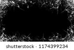 black and white frame with... | Shutterstock .eps vector #1174399234