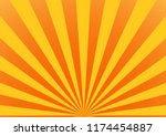background sunlight yellow and... | Shutterstock .eps vector #1174454887