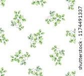 watercolor seamless pattern. a... | Shutterstock . vector #1174491337