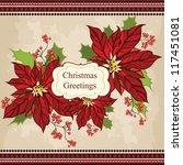 Retro Christmas Greeting Card...