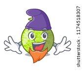elf fresh melon isolated on... | Shutterstock .eps vector #1174518307
