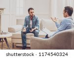 psychological treatment.... | Shutterstock . vector #1174540324