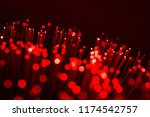 fiber optics  abstract   blur...   Shutterstock . vector #1174542757