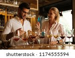 professional cooperation.... | Shutterstock . vector #1174555594