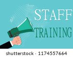 conceptual hand writing showing ...   Shutterstock . vector #1174557664