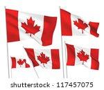 Canada Vector Flags. A Set Of ...