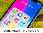 sankt petersburg  russia ... | Shutterstock . vector #1174599577