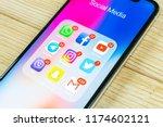 sankt petersburg  russia ... | Shutterstock . vector #1174602121