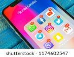 sankt petersburg  russia ... | Shutterstock . vector #1174602547