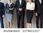 close up group of multi ethnic... | Shutterstock . vector #1174611217
