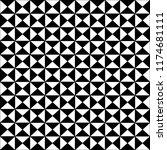 geometric figures monochrome... | Shutterstock .eps vector #1174681111