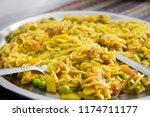 Maggi Noodles Kept On A Plate