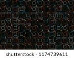 beautiful geometric pattern... | Shutterstock .eps vector #1174739611