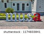 guadalajara  mexico 25 april ... | Shutterstock . vector #1174833841