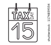 calendar reminder with tax day
