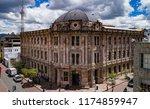 cuenca  ecuador   october 21 ... | Shutterstock . vector #1174859947